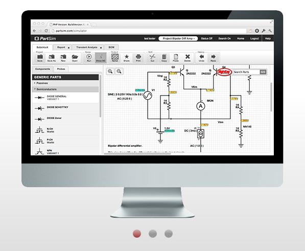 Partsim Simulator Rangkaian Online Gratis Embeddednesia